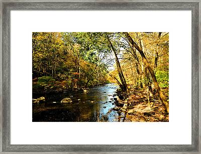 Musconetcong River Framed Print