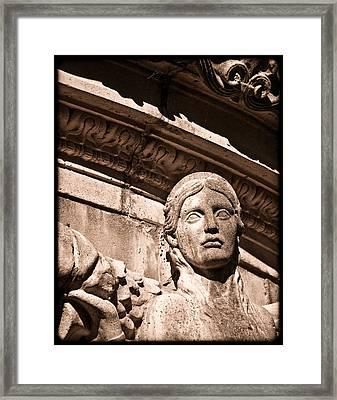 San Francisco, California - Muse Framed Print