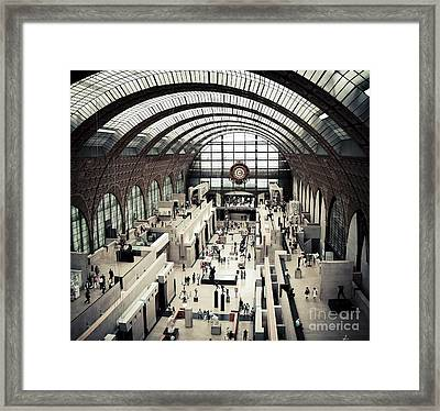 Musee D'orsay II Framed Print by RicharD Murphy