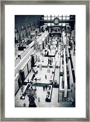 Musee D'orsay Framed Print by RicharD Murphy