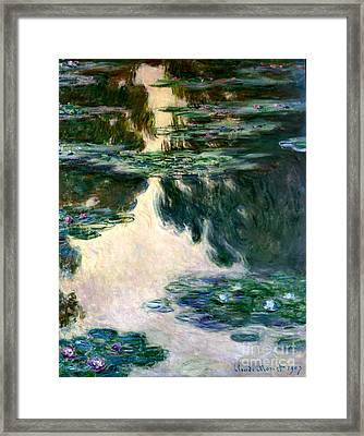 Musee Marmottan And The Collections Suisses Framed Print