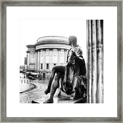 #museum #liverpool #classic #old Framed Print