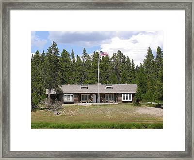 Museum Of The National Park Ranger Framed Print by Feva  Fotos