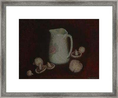 Mushrooms 1977 Framed Print