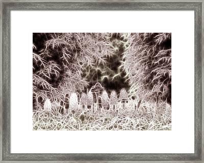 Mushrooms Framed Print by Odon Czintos