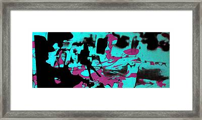 Music - Underground Art Framed Print by Arte Venezia