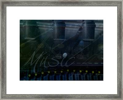 Music Framed Print by Affini Woodley