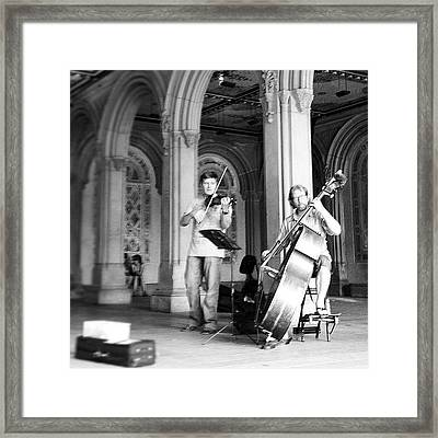 Music At Bethesda Framed Print