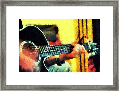 Music From The Heart IIi Framed Print