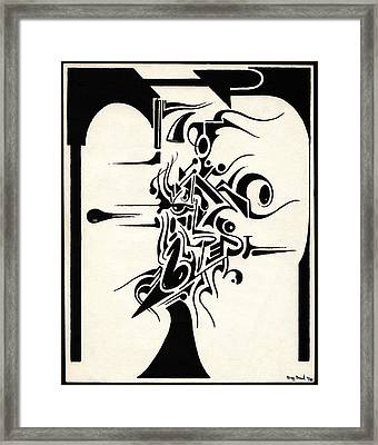 Music Framed Print by Gregory Grant