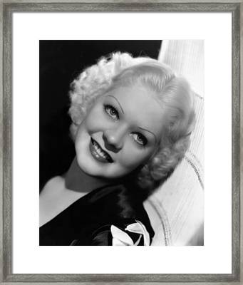 Music Is Magic, Alice Faye, 1935 Framed Print by Everett
