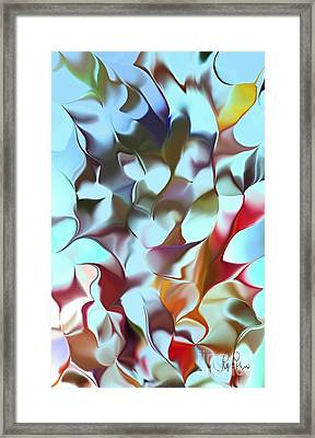 Framed Print featuring the digital art Music by Leo Symon