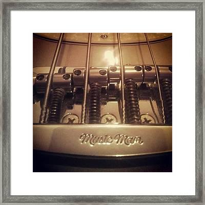 Music Man Framed Print