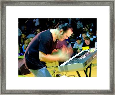 Music Man Framed Print by Glenn McCurdy