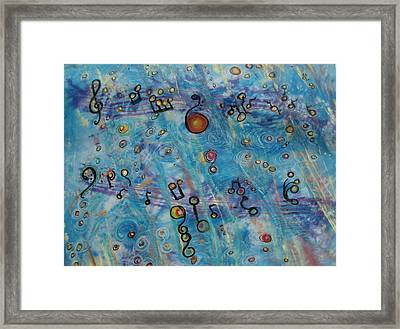 Music Moment Framed Print