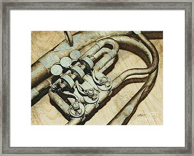 Music Of The Past Framed Print