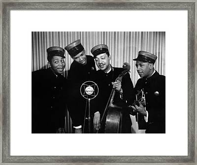Music: The Ink Spots Framed Print by Granger