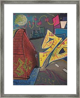 Music Transformation No.4 Framed Print by Casey P