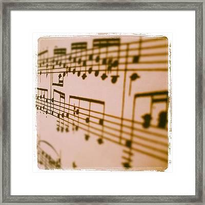 Music! Yeah! Go Mozart! Framed Print
