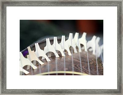 Musical Bridge Framed Print