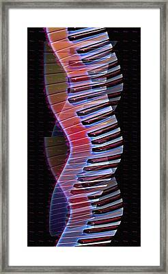 Musical Dna Framed Print by Bill Cannon