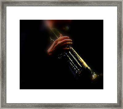 Music's Kindness Framed Print