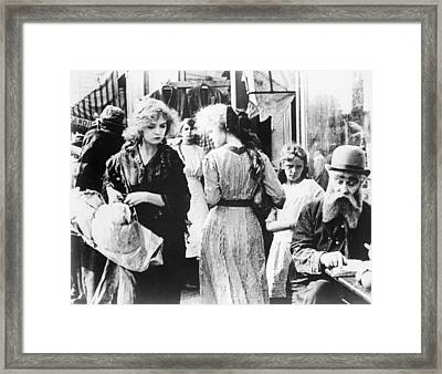 Musketeers Of Pig Alley Framed Print by Granger