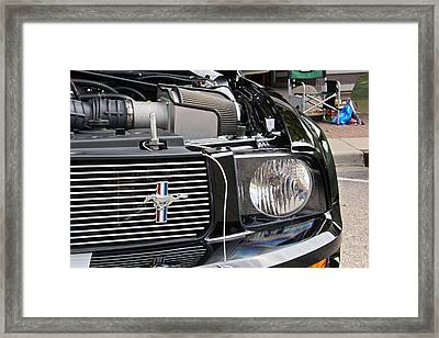 Mustang Framed Print by Chuck Zacharias