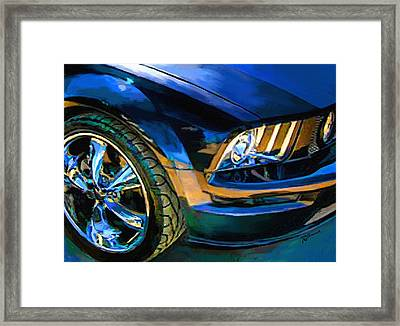 Mustang Framed Print by Robert Smith