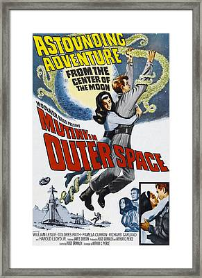 Mutiny In Outer Space, Top Center Framed Print