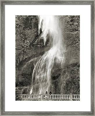 Mutnomah Bridge Threesome Framed Print