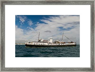 Mv Balmoral Framed Print by Gary Eason