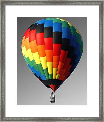 Framed Print featuring the photograph My Balloon   by Raymond Earley