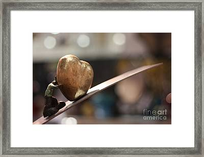 My Beautiful Heart Close Up Framed Print