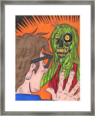 My Beloved I've Returned Framed Print by Anthony Snyder