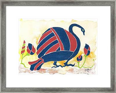 My Big Fat Greek Goose 1 Framed Print