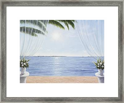 My Blue Heaven Framed Print