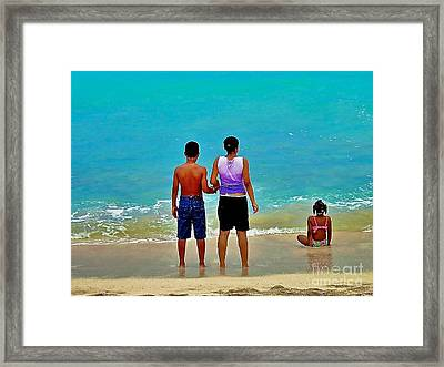 My Brother's Keeper Framed Print by Joe Finney