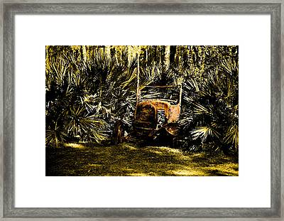 My Car Framed Print