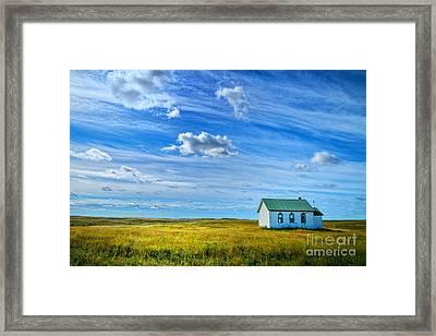 My Church Framed Print by Rick Bragan