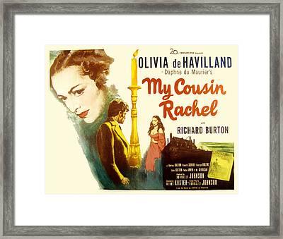 My Cousin Rachel, Olivia De Havilland Framed Print by Everett