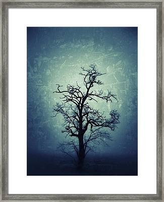 My Darkest Hour In The Night... Framed Print by Marianna Mills