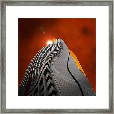 My Distorted Perception Framed Print