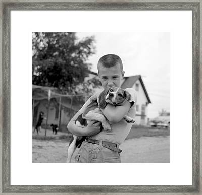 My Dog Framed Print by Ecell