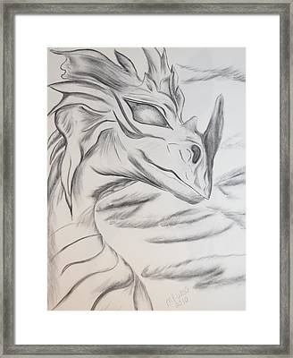 My Dragon Framed Print by Maria Urso