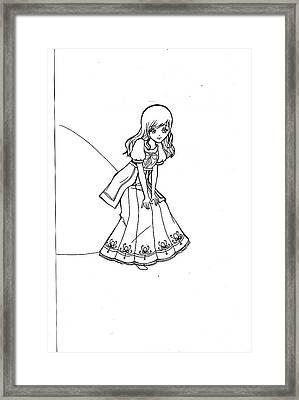 My Drawing 5 Framed Print by Miftahur Rizqiyah