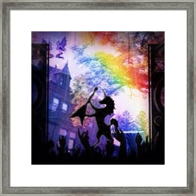My Entry For #insta_magical Challenge Framed Print