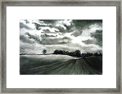 My Farm Land Framed Print