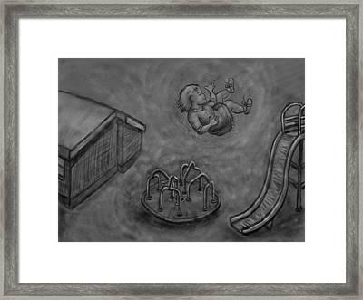 My First Dream - Floating Framed Print by Dawn Senior-Trask