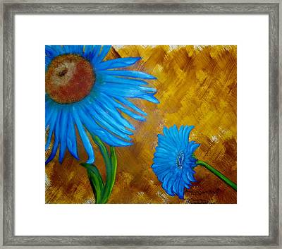 My Flowering Blossom Framed Print